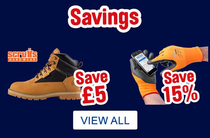 Workwear Savings. View All