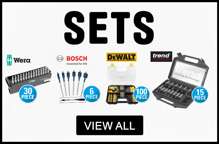 Power Tool Accessory Sets - View All