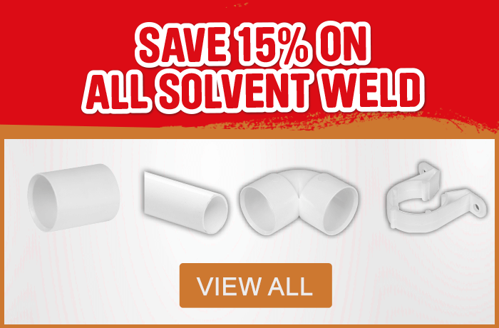 Save 15% on Solvent Weld - View All
