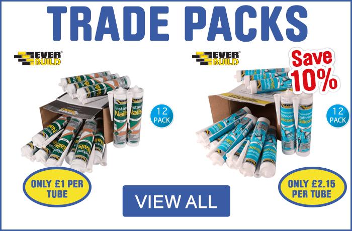 Adhesives & Sealants Trade Packs - View All