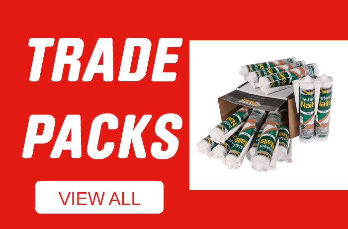 Adhesives & Sealants Trade Packs - View All