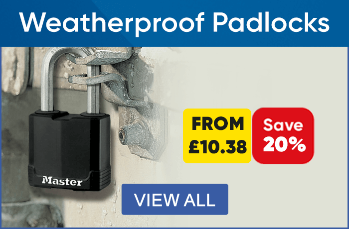 Weatherproof Padlocks - View All