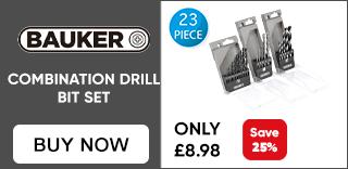 Bauker Drill Bit Set