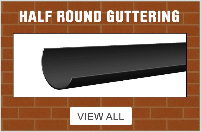Half Round Guttering - View All