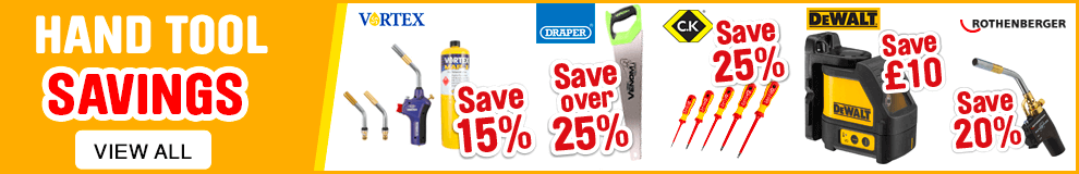 Hand Tool Savings - View All