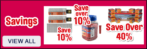 Savings on Screws & Fixings - View All