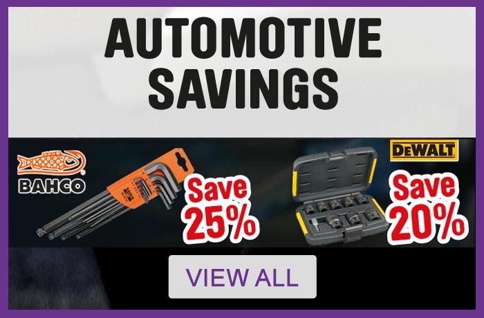 Automotive Savings - View All