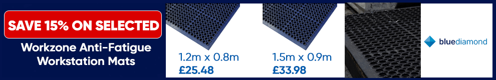 Save 15% on Blue Diamond Mats - Limited Time only