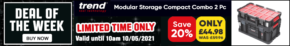 Save 20% on this Trend Modular Storage Compact Combo - Limited Time only