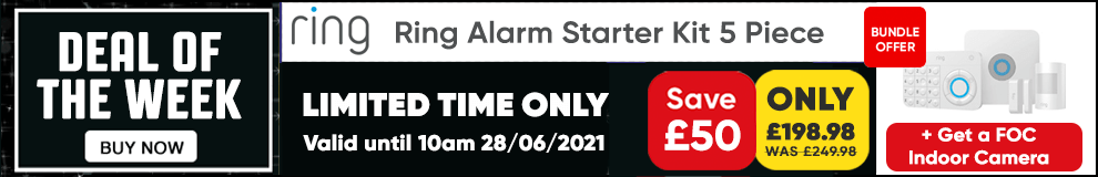 Save £50 on this Ring Alarm 5 piece Starter Kit  - Limited Time only