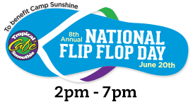 National Flip Flop Day Logo