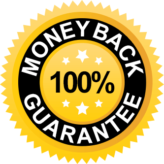 100% Money Back Guarantee Seal