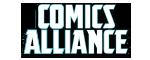 Logo for the website http://comicsalliance.com