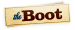 Logo for the website http://theboot.com