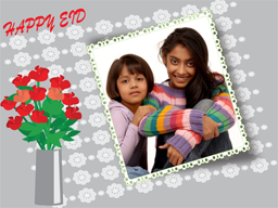 Eid Card - Flower Vase