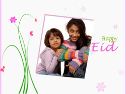 Eid Card - Small Flower