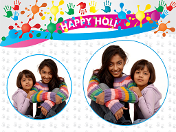 Holi Festival Photo Card - 3