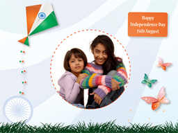 Independence Day Card - Kite of Freedom