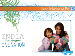 Independence Day Card - One Nation