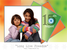 Independence Day Card - Long Live Freedom