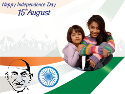 Independence Day Card - Gandhi Ji