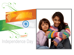 Independence Day Card - Indian Flag