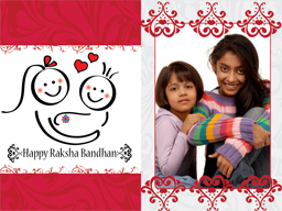 Rakhi Card - Happy Kids