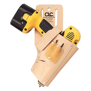 Leather Right Hand Cordless Drill Holster