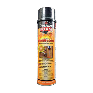 Handi-Foam Fireblock Foam Sealant with Straw  [24 oz.]