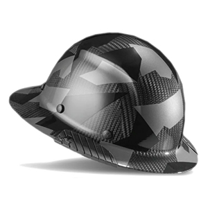 Lift Safety DAX Full Brim Carbon Fiber Hard Hat Desert Black Camo