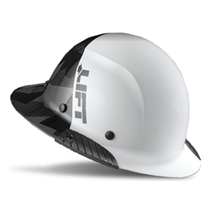 Lift Safety DAX Carbon Fiber Fifty50 Hard Hat Full Brim Black Camo