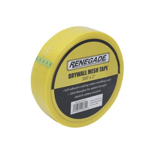 2 in x 300 ft Renegade Tools Mesh Tape - Yellow
