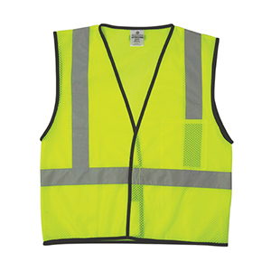 Economy Series 1-Pocket Mesh Vest - Lime - L/XL