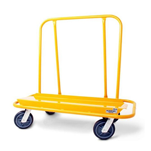 Nu-Wave Standard Cart with 4 Swivel 8-Inch Hi-Tech Casters, Yellow