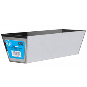 OX Stainless Steel Pro Series Mud Pan 12