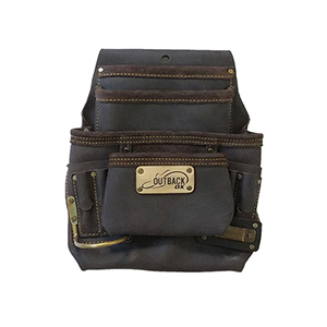 Pro 10-Pocket Pouch - Oil-Tanned Leather