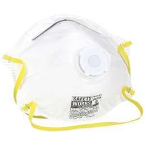 N95 Dust Respirators w/ Exhalation Valve [10]