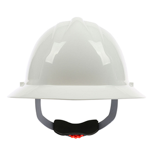 PIP 4200 Series Full Brim Hard Hat with HDPE Shell and Wheel Ratchet Adjustment