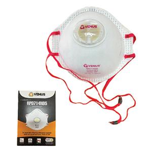 PIP Venus N95 Disposable Respirator with Valve - 10 Pack