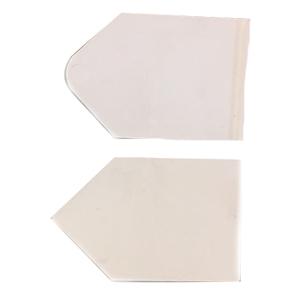 Pla-Cor White Plastic Gate For Hopper Set