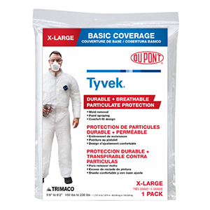 Painter's Disposable Coveralls - X-Large