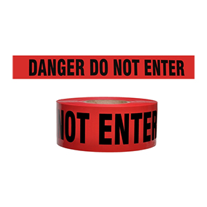 2 Mil Red Danger Do Not Enter Tape 3