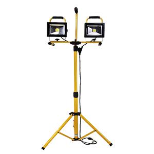 LED 3600 Lumen DUAL 20W Worklight with Tripod