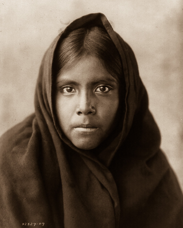 1904, A Qanatika Girl
