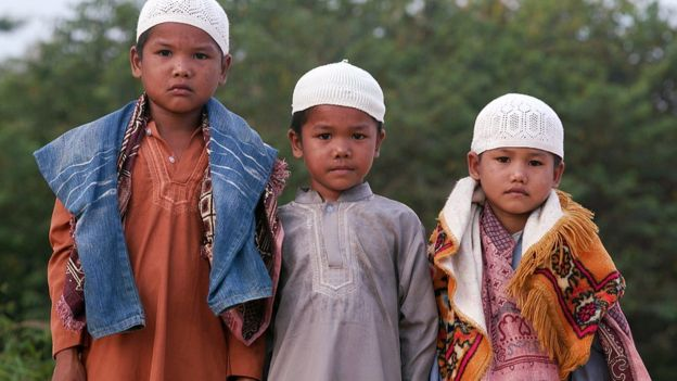 These Orang Rimba boys converted to Islam only a few months ago