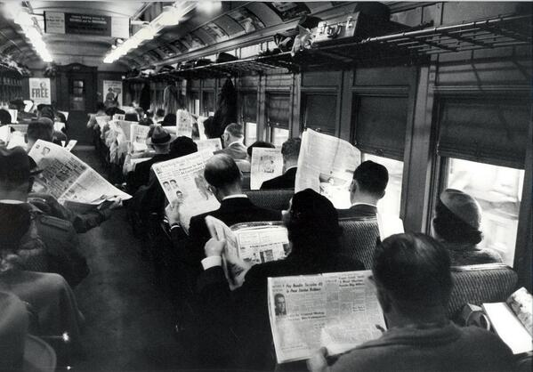 Old Tech was anti-social, too