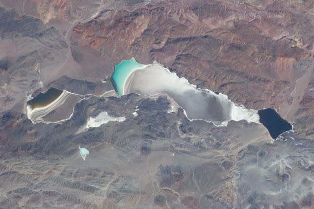 Laguna Verde Catamarca Salt Deposits