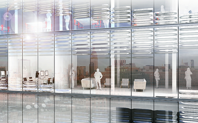 Self Shading Insulated Glass Unit Ssigu Collaborative