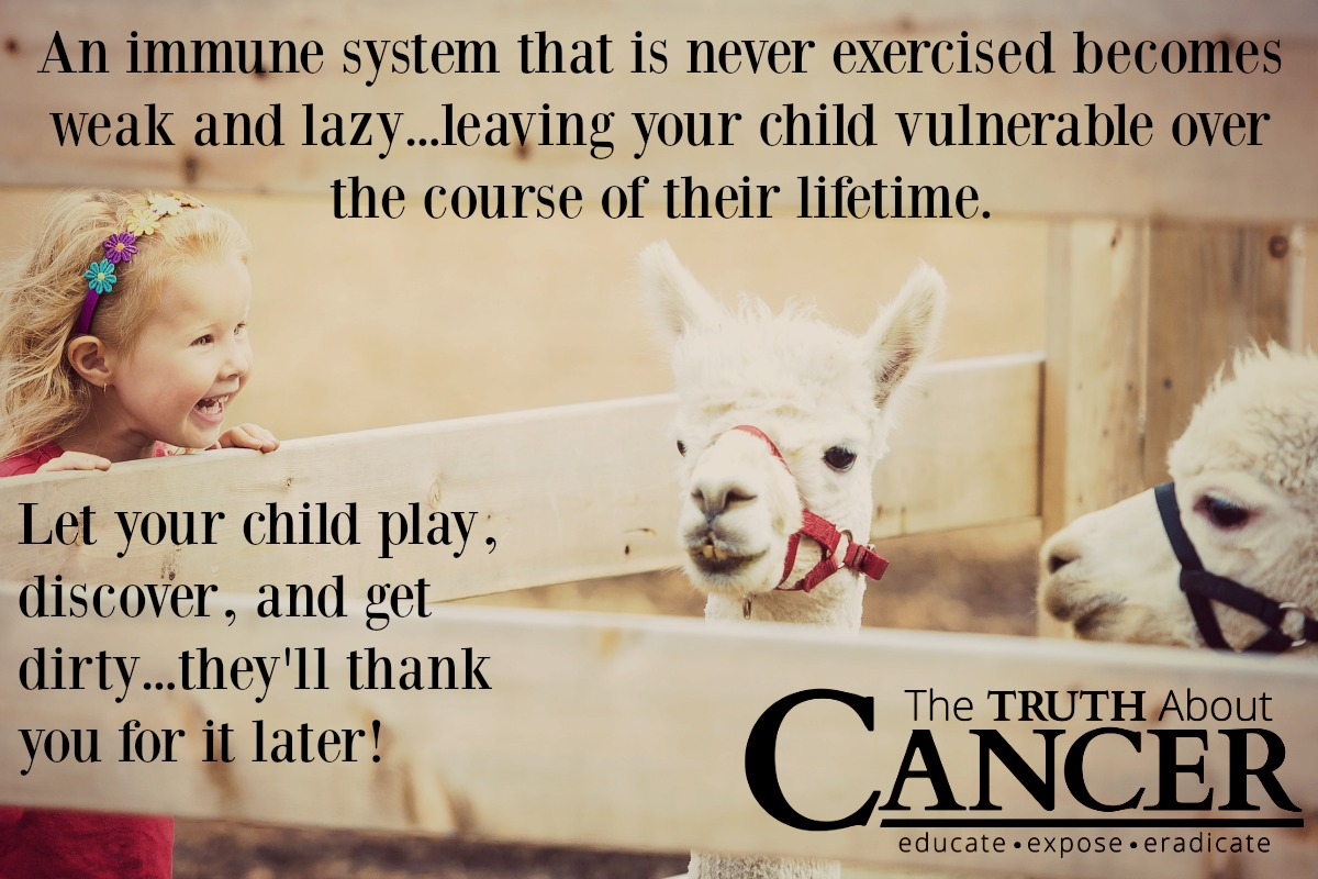 Our children  require a strong immune system to prevent disease.