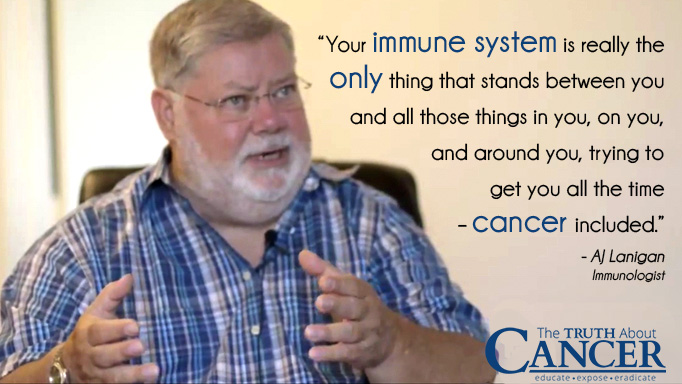 Quote by AJ Lanigan about a Healthy Immune System